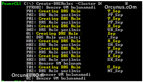 CreateDRSRule2